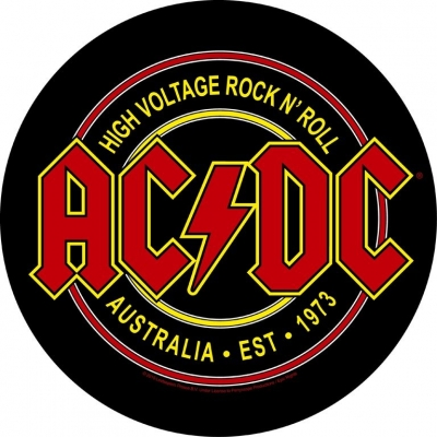 AC/DC 'High Voltage Rock N Roll' Backpatch