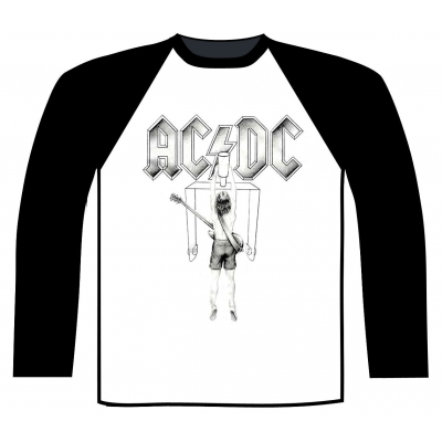 AC/DC 'Flick Of The Switch' Baseball Shirt