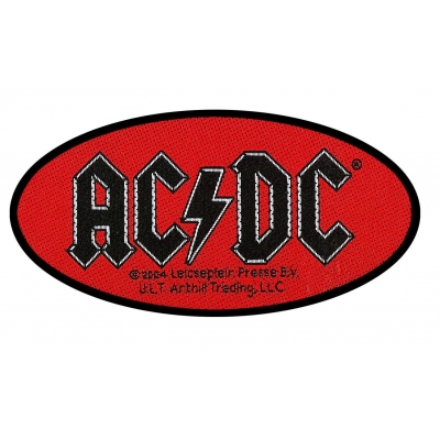 AC/DC 'Oval Logo' Woven Patch