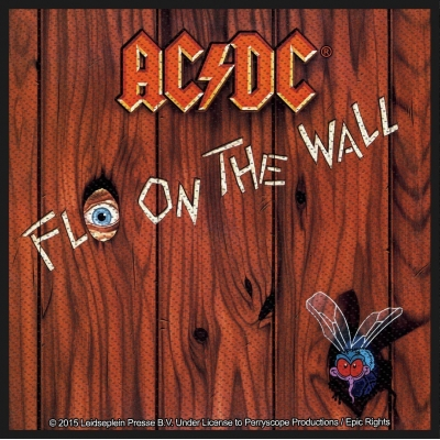 AC/DC 'Fly On The Wall' Woven Patch