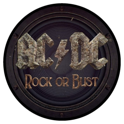 AC/DC 'Rock Or Bust' Woven Patch