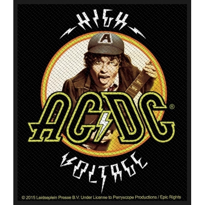 AC/DC 'High Voltage Angus' Woven Patch