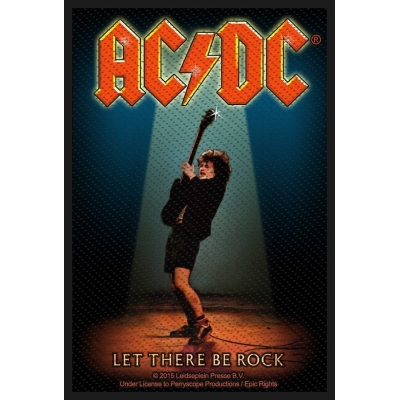 AC/DC 'Let There Be Rock' Woven Patch