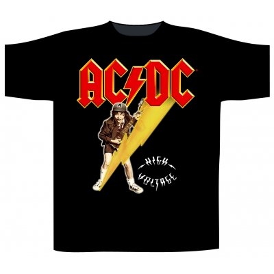 AC/DC 'High Voltage / Angus' T-Shirt
