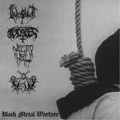 "Various Artists ""Black Metal Warfare"" 7'' EP"