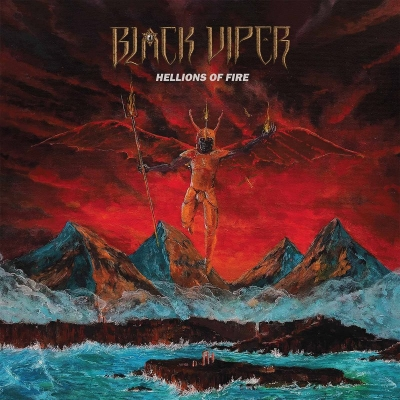 "BLACK VIPER ""Hellions Of Fire"" CD"