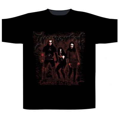 Immortal 'Damned In Black' T-Shirt