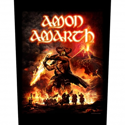 Amon Amarth 'Surtur Rising' Backpatch