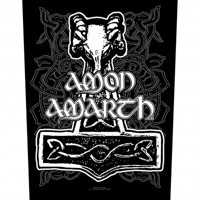 Amon Amarth 'Hammer' Backpatch
