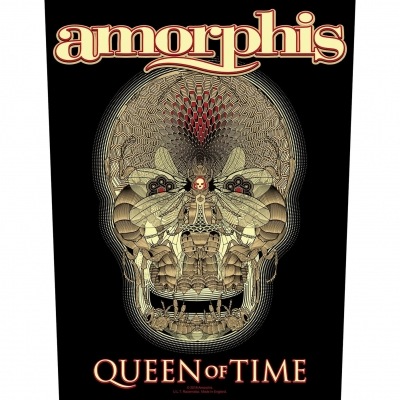 Amorphis 'Queen Of Time' Backpatch