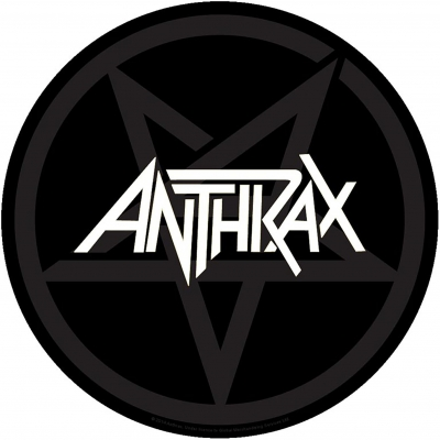 "Antrax ""Pentathrax"" Backpatch"