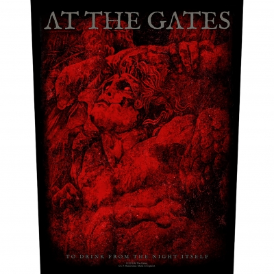 At The Gates 'To Drink From The Night Itself' Backpatch