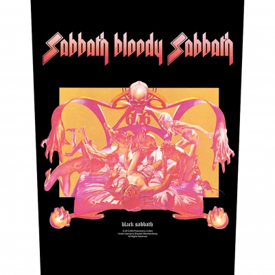 Black Sabbath 'Sabbath Bloody Sabbath' Backpatch