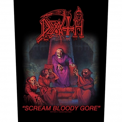 Death 'Scream Bloody Gore' Backpatch