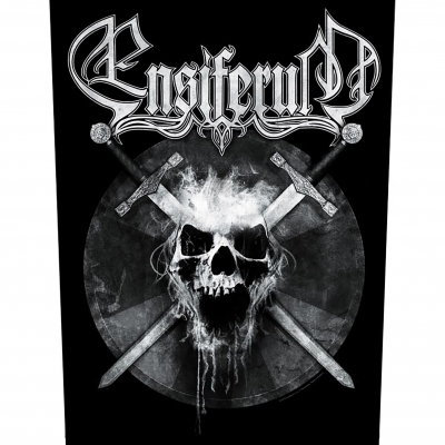 Ensiferum 'Skull' Backpatch