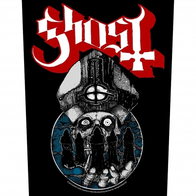 Ghost 'Papa Warriors' Backpatch