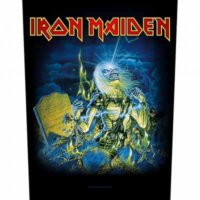 Iron Maiden 'Live After Death' Backpatch