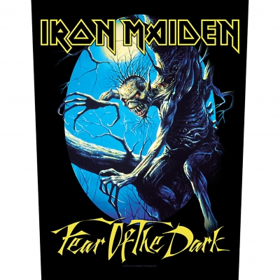 Iron Maiden 'Fear of the Dark' Backpatch