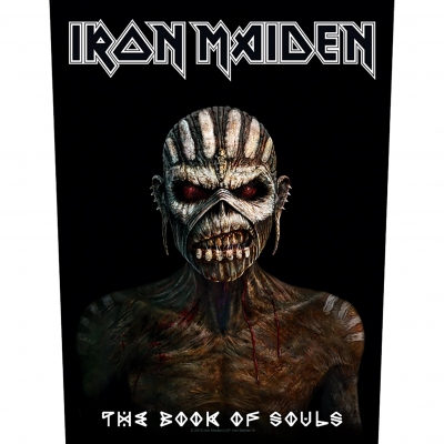 Iron Maiden 'The Book Of Souls' Backpatch