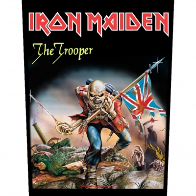 Iron Maiden 'The Trooper' Backpatch