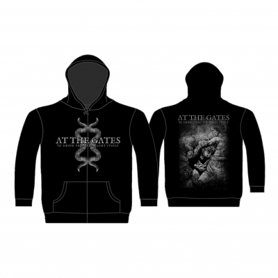 At The Gates 'Tentacle / To Drink' Zip Hood