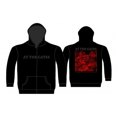 At The Gates 'To Drink From The Night Itself' Zip Hood
