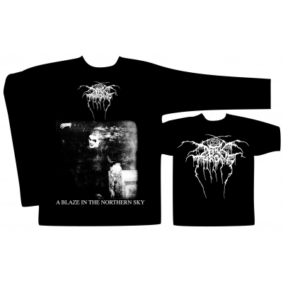 Darkthrone 'A Blaze In The Northern Sky' Long Sleeve T-Shirt