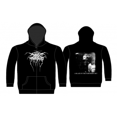 Darkthrone 'A Blaze In The Northern Sky' Zip Hood