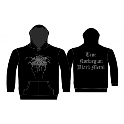 Darkthrone 'True Norwegian Black Metal' Zip Hood
