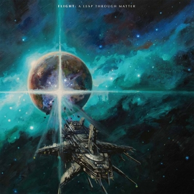 "FLIGHT ""A Leap through matter"" LP"