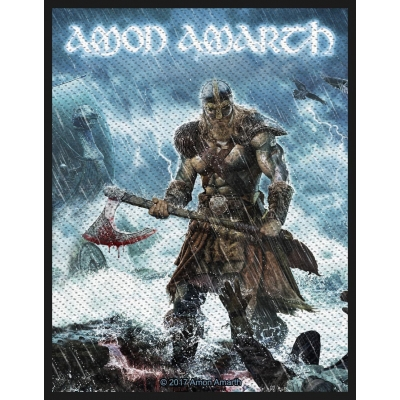 Amon Amarth 'Jomsviking' Woven Patch