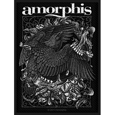 Amorphis 'Circle Bird' Woven Patch