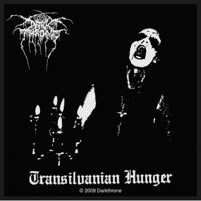 Darkthrone 'Transilvanian Hunger' Woven Patch