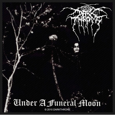 Darkthrone 'Under A Funeral Moon' Woven Patch