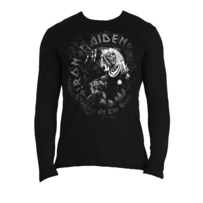 "IRON MAIDEN ""NUMBER OF THE BEAST"" LONGSLEEVE"