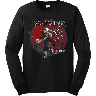 "IRON MAIDEN ""TROOPER RED SKY"" SWEATSHIRT"