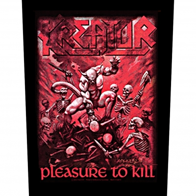 "KREATOR ""Pleasure to kill"" BACKPATCH"