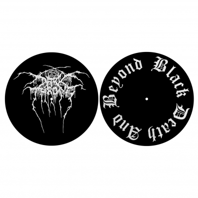 Darkthrone 'Black, Death And Beyond' Slipmat Set