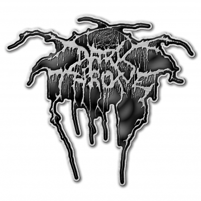 Darkthrone 'Logo' Metal Pin Badge