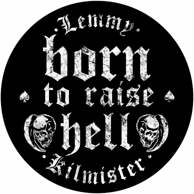 Lemmy 'Born To Raise Hell' Backpatch