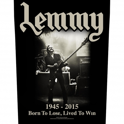 Lemmy 'Lived To Win' Backpatch
