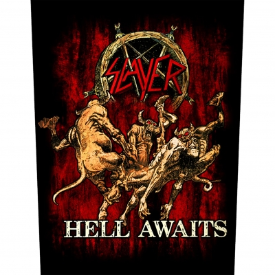 Slayer 'Hell Awaits' Backpatch