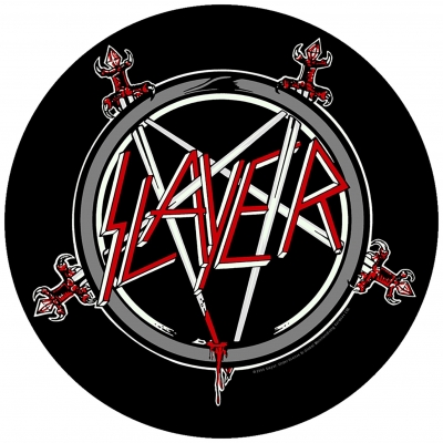 Slayer 'Pentagram' Backpatch