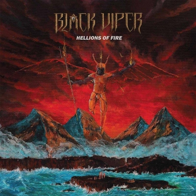 "BLACK VIPER ""Hellions of fire"" LP BLACK"
