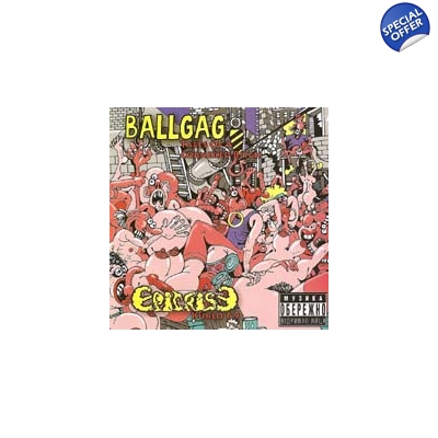 EPICRISE/ BALLGAG Split CD