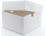 8 Inch White Cake Box and Lid