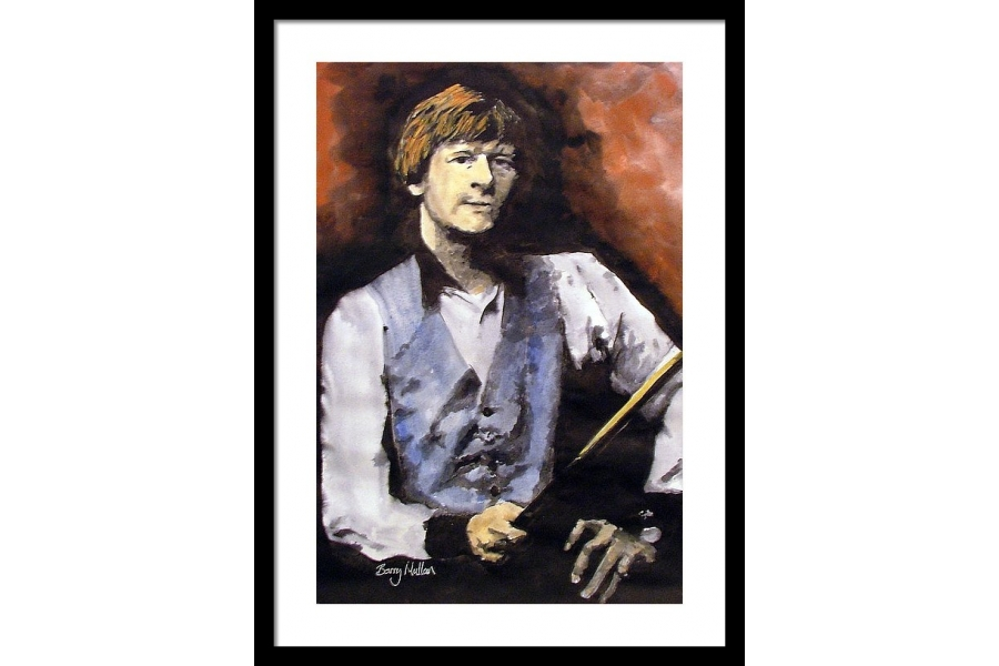 Alex Higgins Art Print