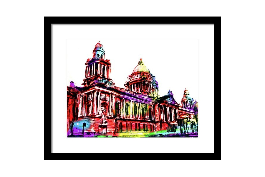 Belfast City Hall Frame..