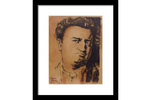 Brendan Behan Framed Ar..