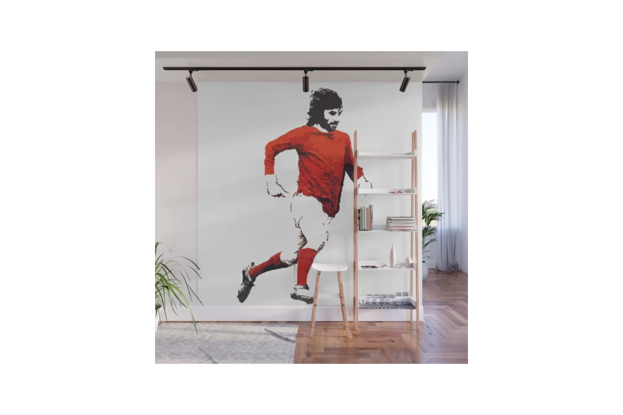 Wall Mural of George Best